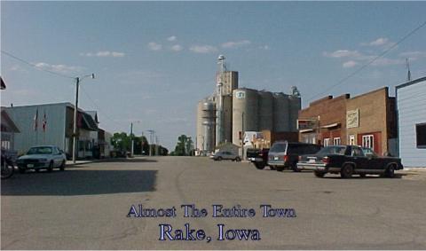 Main Street Rake Iowa